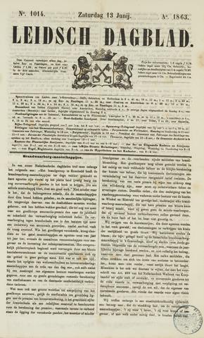 Leidsch Dagblad 1863-06-13