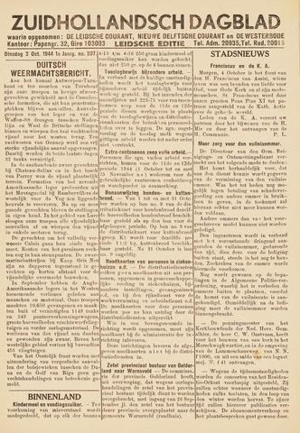 Zuidhollandsch Dagblad 1944-10-03