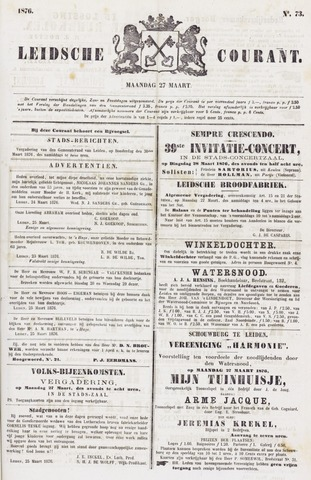 Leydse Courant 1876-03-27