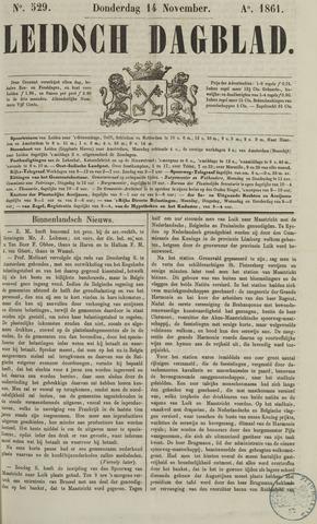 Leidsch Dagblad 1861-11-14