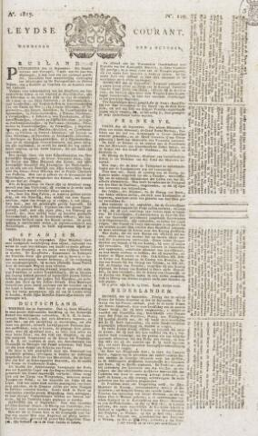 Leydse Courant 1815-10-04