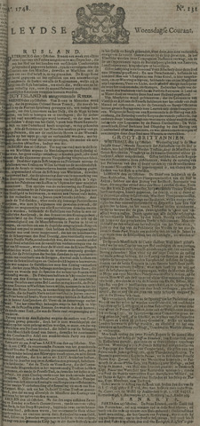Leydse Courant 1748-10-30