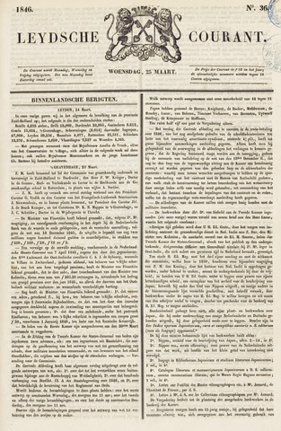 Leydse Courant 1846-03-25