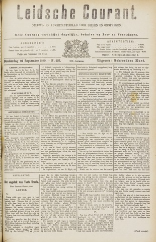 Leydse Courant 1889-09-26