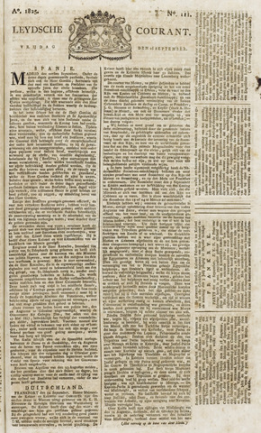 Leydse Courant 1825-09-16