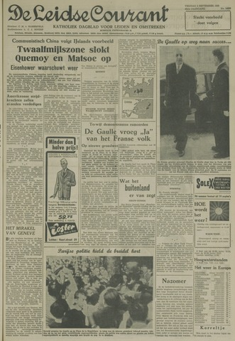 Leidse Courant 1958-09-05
