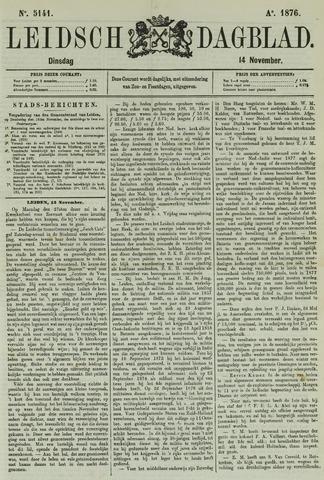 Leidsch Dagblad 1876-11-14