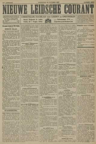 Nieuwe Leidsche Courant 1927-10-19