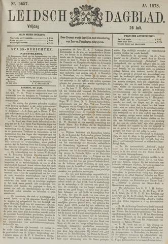 Leidsch Dagblad 1878-07-26