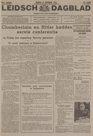 Leidsch Dagblad 1938-09-23