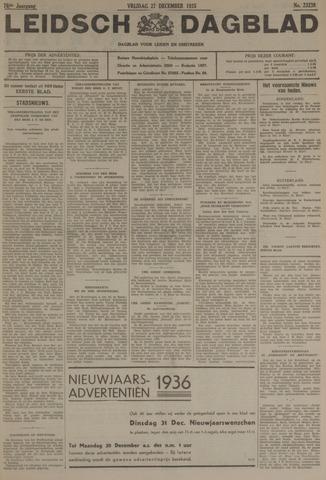 Leidsch Dagblad 1935-12-27
