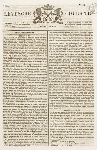 Leydse Courant 1860-05-18