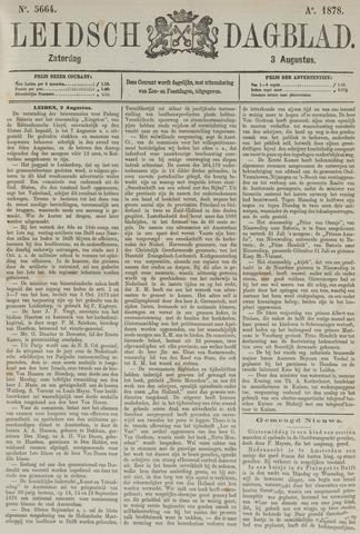 Leidsch Dagblad 1878-08-03