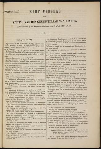 Handelingen van de Raad 1855-07-14