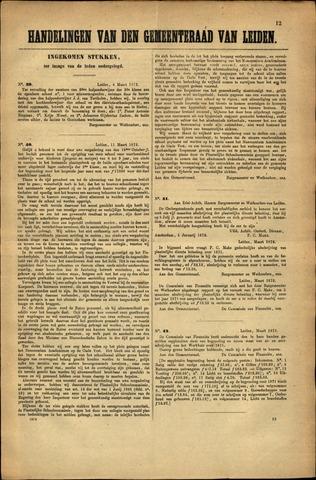 Handelingen van de Raad 1872-03-04