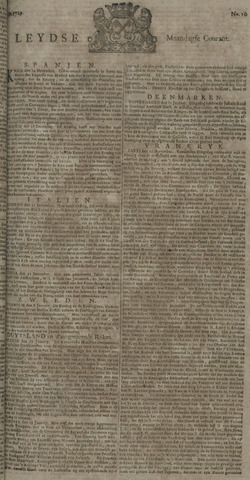Leydse Courant 1729-01-24