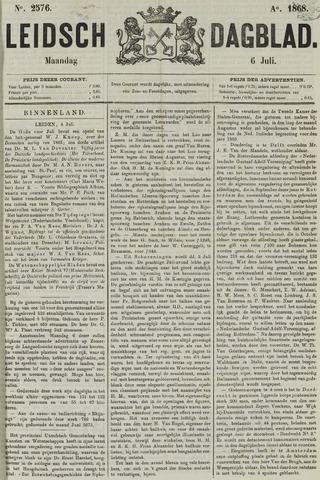 Leidsch Dagblad 1868-07-06