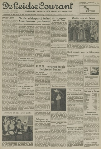 Leidse Courant 1954-03-03