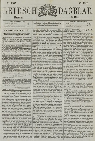 Leidsch Dagblad 1876-05-29