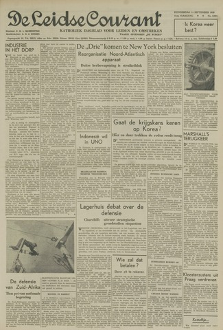 Leidse Courant 1950-09-14