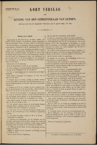 Handelingen van de Raad 1855-04-05