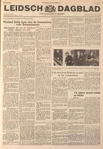 Leidsch Dagblad 1947-11-26