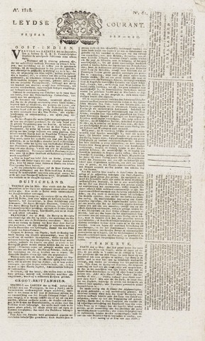 Leydse Courant 1818-05-22