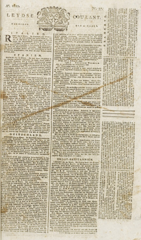 Leydse Courant 1822-03-27