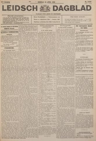 Leidsch Dagblad 1930-04-22
