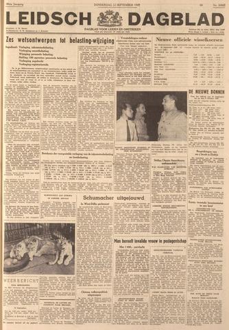 Leidsch Dagblad 1949-09-22