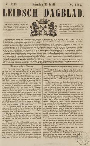 Leidsch Dagblad 1864-06-20