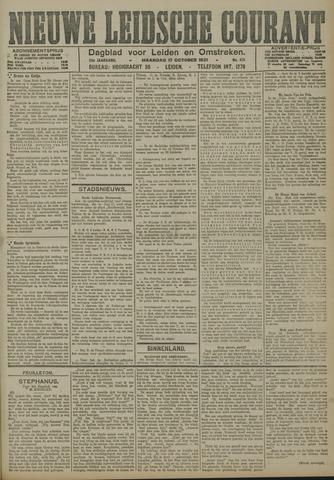Nieuwe Leidsche Courant 1921-10-17