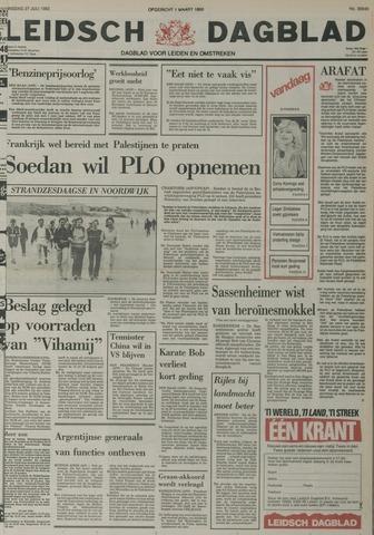 Leidsch Dagblad 1982-07-27