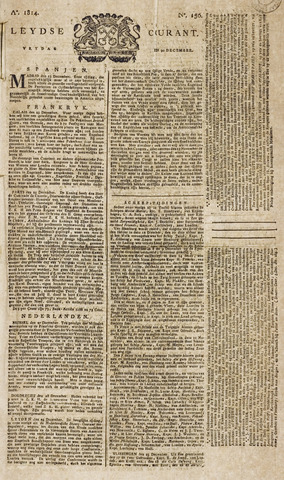 Leydse Courant 1814-12-30