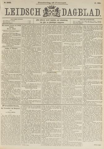 Leidsch Dagblad 1894-02-15