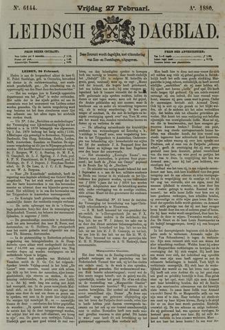 Leidsch Dagblad 1880-02-27