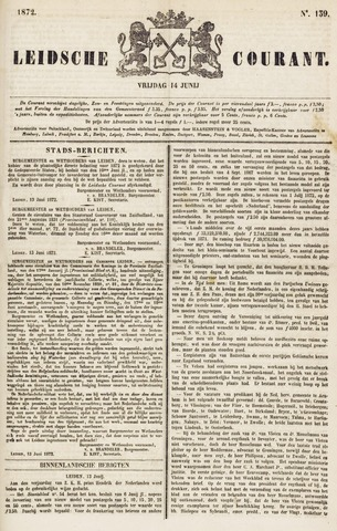 Leydse Courant 1872-06-14