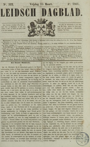 Leidsch Dagblad 1861-03-15