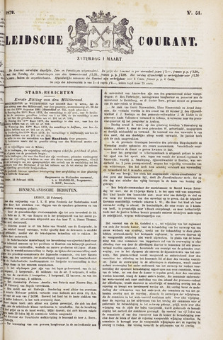 Leydse Courant 1879-03-01
