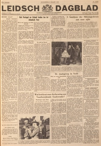 Leidsch Dagblad 1949-03-31