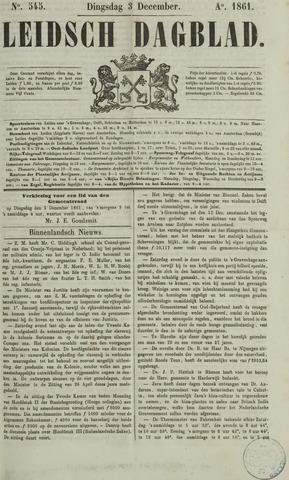 Leidsch Dagblad 1861-12-03