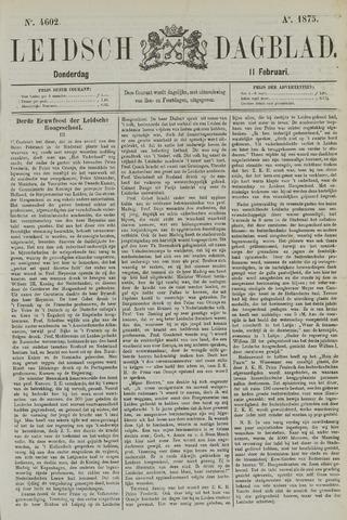 Leidsch Dagblad 1875-02-11