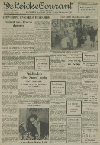 Leidse Courant 1961-08-26