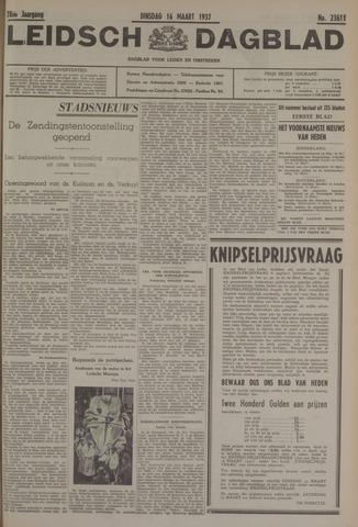 Leidsch Dagblad 1937-03-16