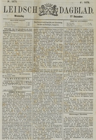 Leidsch Dagblad 1876-12-27