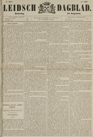 Leidsch Dagblad 1869-08-14