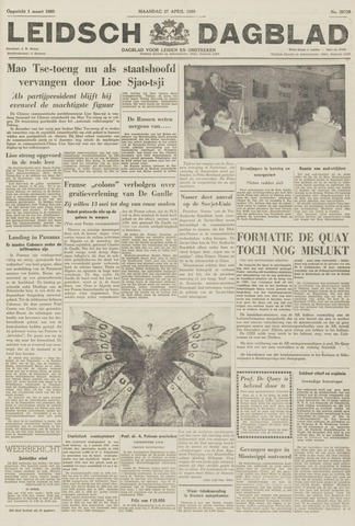 Leidsch Dagblad 1959-04-27