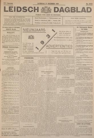 Leidsch Dagblad 1930-12-27