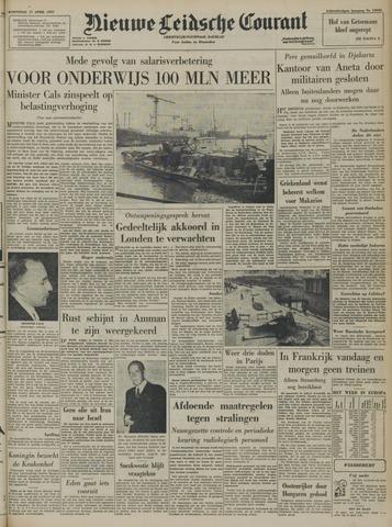 Nieuwe Leidsche Courant 1957-04-17
