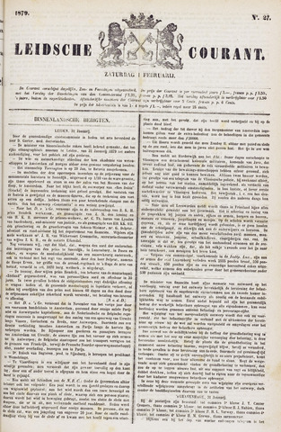 Leydse Courant 1879-02-01